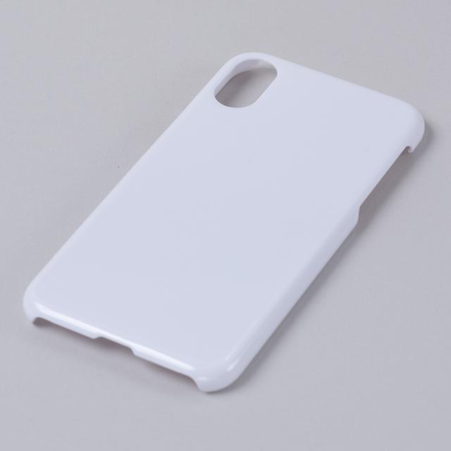 iPhone XR用ハードケース(白)