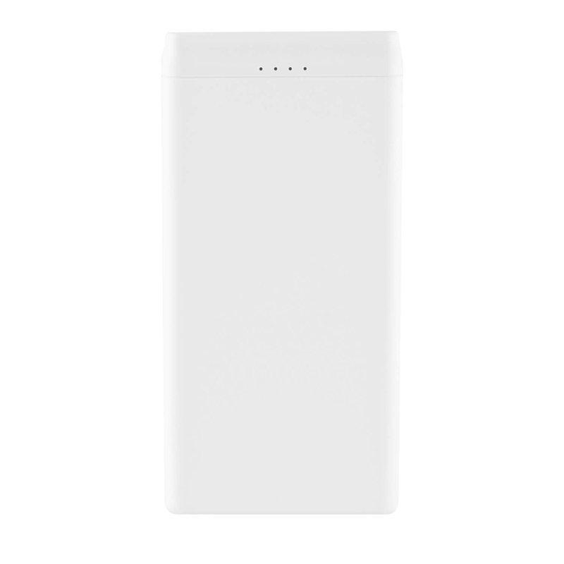 モバイルバッテリー10000mAh【GH-BTJ100-WH】2台同時充電・5V2.1A出力・グリーンハウス