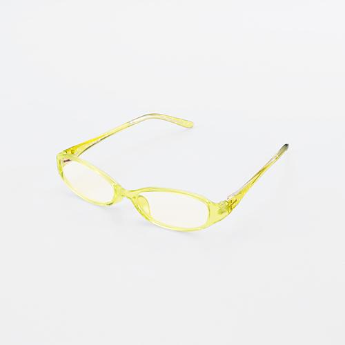 ブルーライトカットメガネ・クリアレンズタイプ【ELECOM OG-ABLC06LGR】紫外線99%カット・エレコム