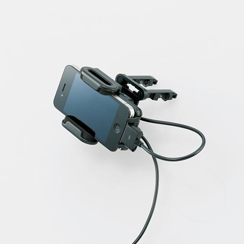 Logitec LAT-MPIH03A(iPhoneがカーナビに!iPhone用FMトランスミッター ・エアダクト設置タイプ)