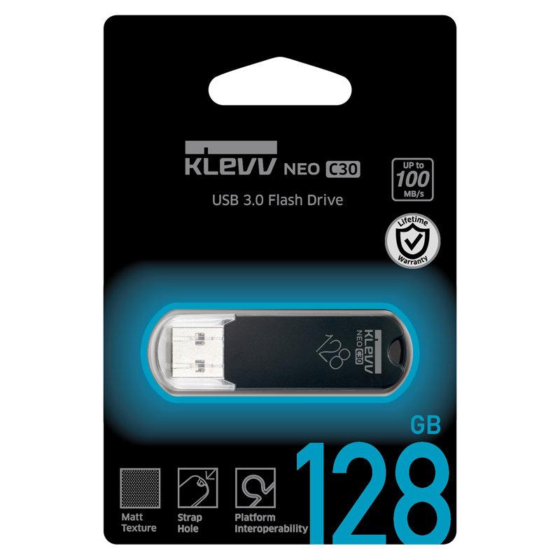 国内永久保証!ESSENCORE 128GB【USB3.0メモリK128GUSB3-C3】キャップ式・最大R=100MB/s