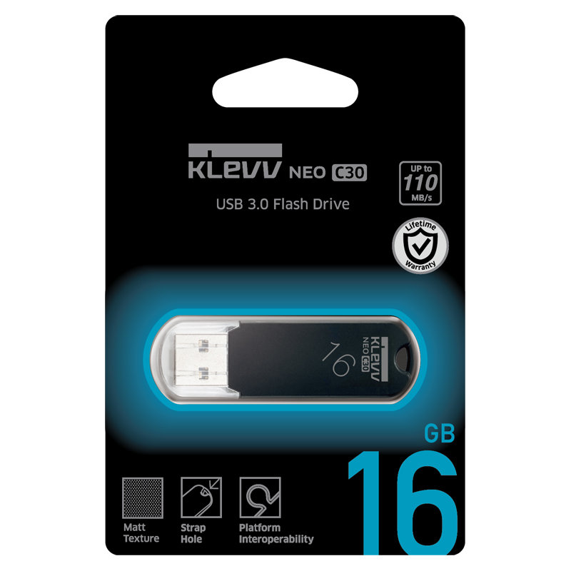 国内永久保証!ESSENCORE 16GB【USB3.0メモリK016GUSB3-C3】キャップ式・最大R=110MB/s