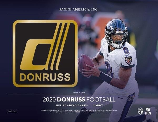 NFL 2020 DONRUSS FOOTBALL HOBBY BOX
