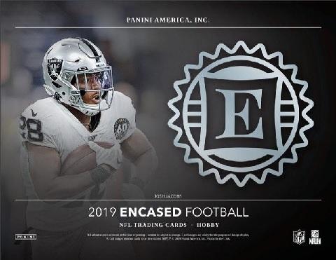 NFL 2019 PANINI ENCASED FOOTBALL