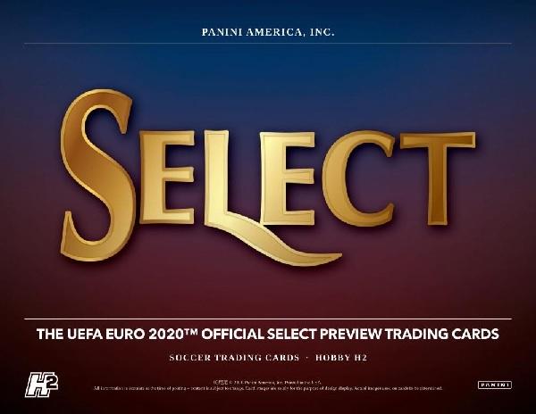 PANINI 2020 SELECT UEFA EURO SOCCER HOBBY HYBRID BOX