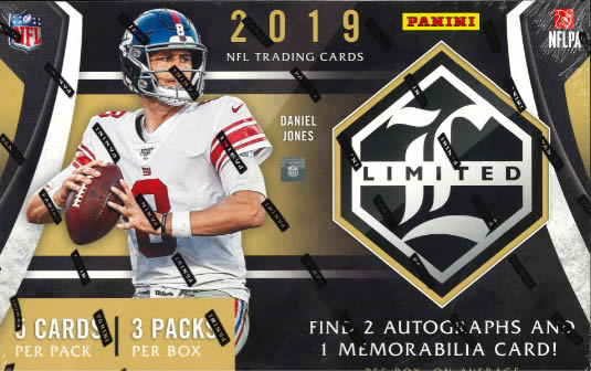 NFL 2019 PANINI LIMITED FOOTBALL BOX