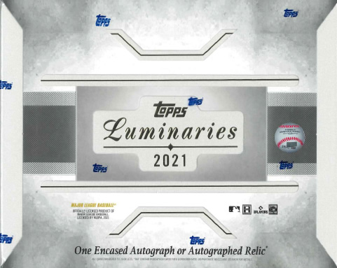 MLB 2021 TOPPS LUMINARIES BASEBALL BOX