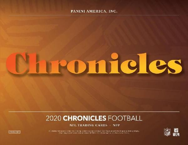 NFL 2020 PANINI CHRONICLES FAT PACK BOX