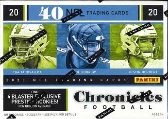 NFL 2020 PANINI CHRONICLES BLASTER BOX