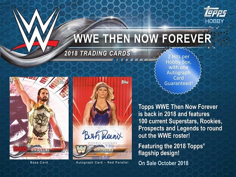 2018 TOPPS WWE:THEN NOW FOREVER BOX (送料無料)