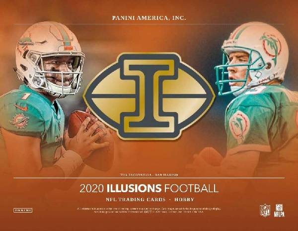NFL 2020 PANINI ILLUSIONS FOOTBALL HOBBY BOX