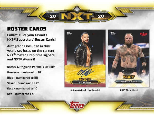 2020 TOPPS WWE NXT BOX(送料無料)