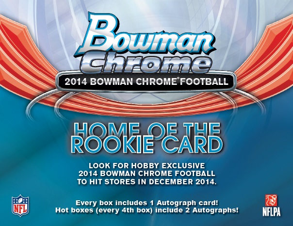 ■セール■NFL 2014 BOWMAN CHROME FOOTBALL BOX