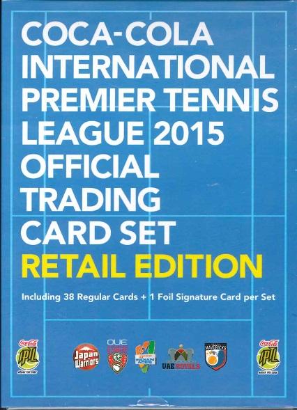 エポック コカ・コーラ インターナショナル・プレミア・テニス・リーグ 2015 オフィシャルトレーディングカード RETAIL EDITION