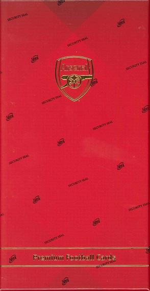 2016 FUTERA UNIQUE ARSENAL PREMIUM FOOTBALL CARD BOX(送料無料)