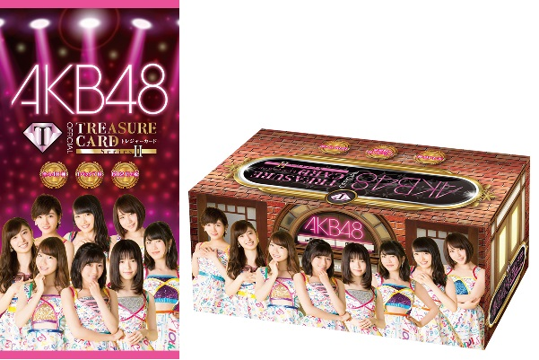AKB48 official TREASURE CARD Series2 BOX(送料無料)