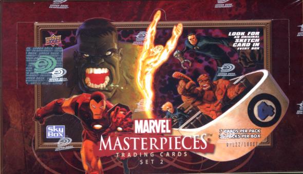 MARVEL MASTER PIECES トレーディングカード SET 2