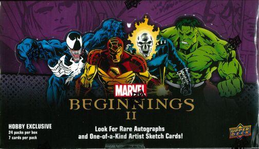 2012 MARVEL BEGINNINGS 2 トレーディングカード BOX
