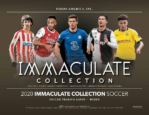 2020 PANINI IMMACULATE SOCCER BOX