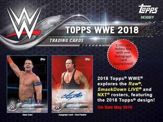 2018 TOPPS WWE BOX