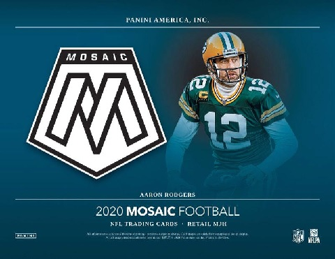 NFL 2020 PANINI MOSAIC FOOTBALL MULTI-PACK BOX