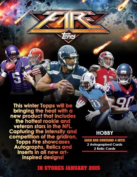 NFL 2014 TOPPS FIRE FOOTBALL BOX(送料無料)
