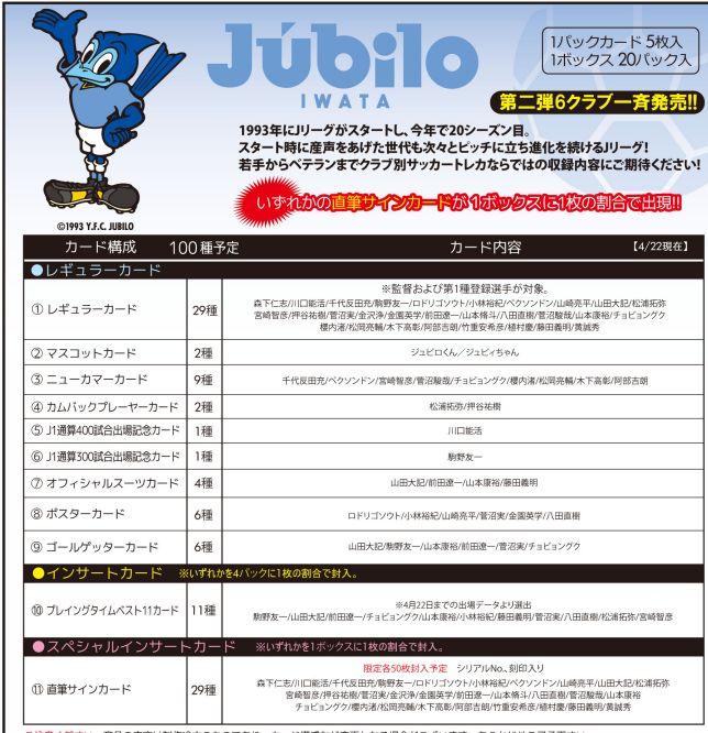 ■セール■2012 Jリーグ カード チームエディション・メモラビリア ジュビロ磐田 BOX