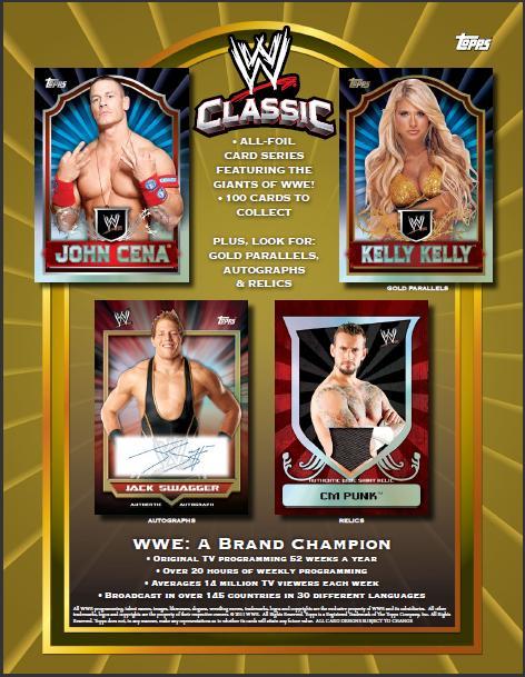 2011 TOPPS WWE CLASSICS トレーディングカード BOX