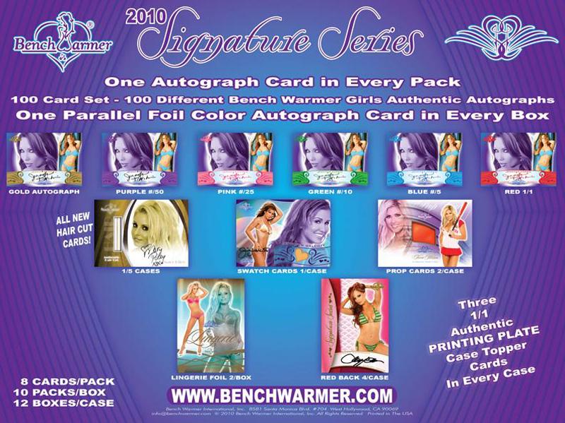 BENCHWARMER 2010 SIGNATURE SERIES