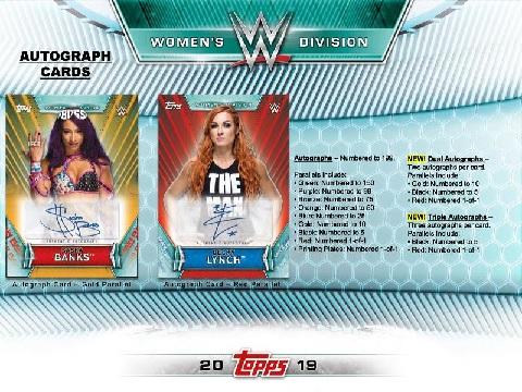 2019 TOPPS WWE WOMEN'S DIVISION BOX (送料無料)