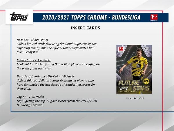 2020/21 TOPPS CHROME BUNDESLIGA BOX