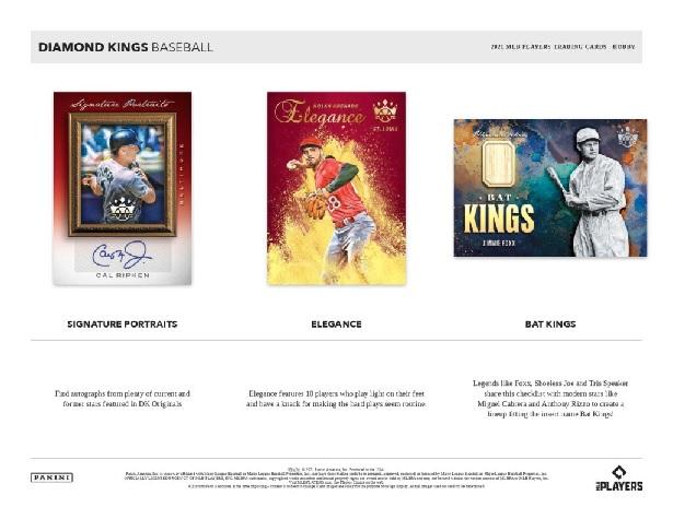 PANINI 2021 DIAMOND KINGS BASEBALL HOBBY BOX