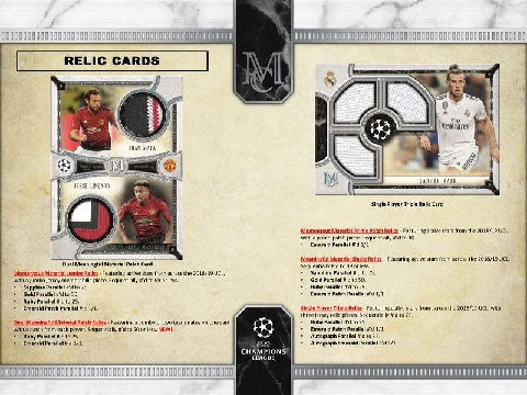 2018/19 TOPPS UEFA CHAMPIONS LEAGUE MUSEUM COLLECTION