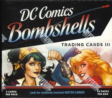 2019 CRYPTZOIC DC COMICS BOMBSHELLS 3 BOX