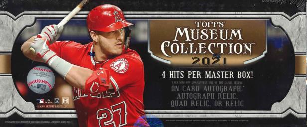 MLB 2021 TOPPS MUSEUM COLLECTION BASEBALL BOX