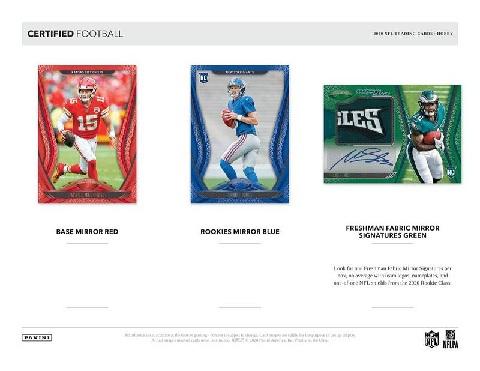 NFL 2020 PANINI CERTIFIED FOOTBALL BOX