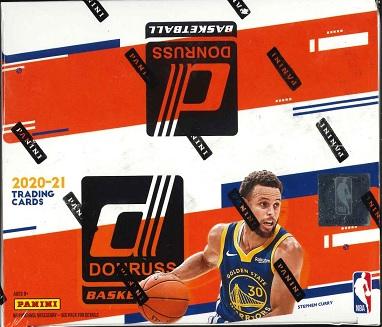 NBA 2020/21 PANINI DONRUSS BASKETBALL RETAIL BOX