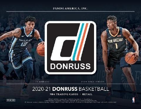 NBA 2020/21 PANINI DONRUSS BASKETBALL BLASTER