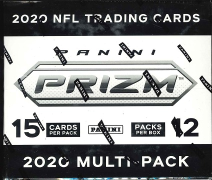 NFL 2020 PANINI PRIZM FOOTBALL RETAIL MULTI-PACK BOX(送料無料)