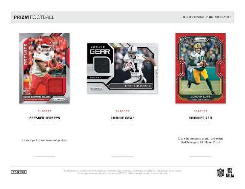 NFL 2020 PANINI PRIZM FOOTBALL RETAIL BLASTER BOX