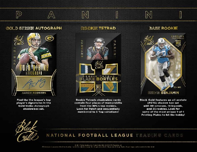 NFL 2014 PANINI BLACK GOLD FOOTBALL BOX