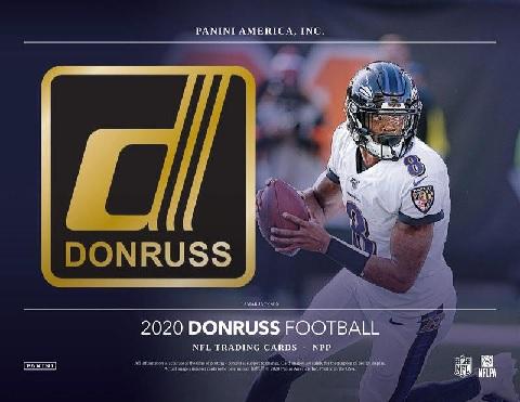 NFL 2020 PANINI DONRUSS FOOTBALL FATPACK BOX
