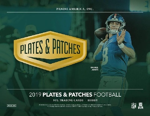 NFL 2019 PANINI PLATES & PATCHES FOOTBALL