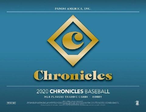 2020 PANINI CHRONICLES BASEBALL BOX