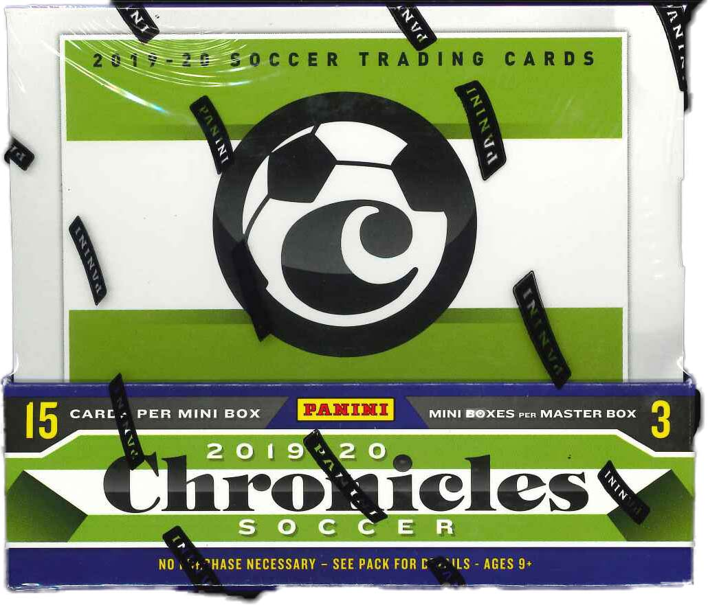 2019/20 PANINI CHRONICLES SOCCER HOBBY BOX