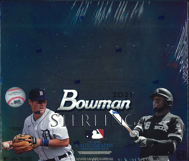 MLB 2021 TOPPS BOWMAN STERLING BASEBALL BOX(送料無料)