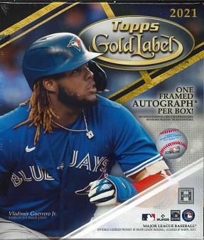 MLB 2021 TOPPS GOLD LABEL BASEBALL BOX(送料無料)