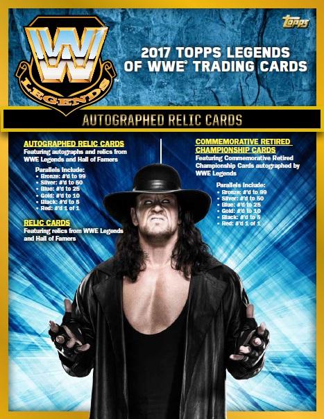 2017 TOPPS LEGENDS OF WWE BOX (送料無料)