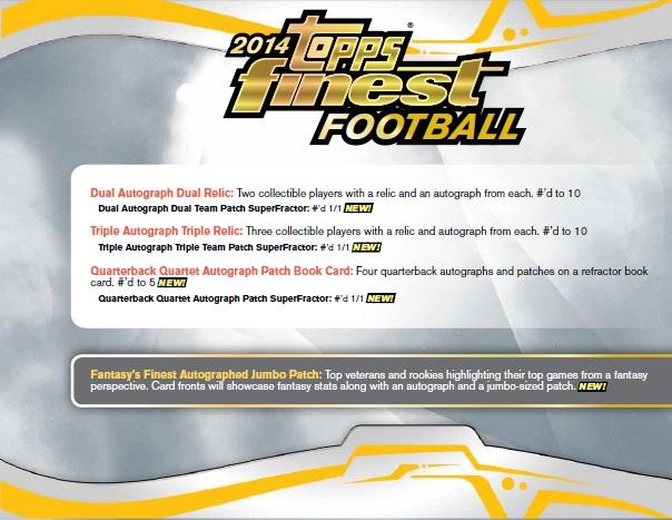 ■セール■NFL 2014 TOPPS FINEST FOOTBALL BOX