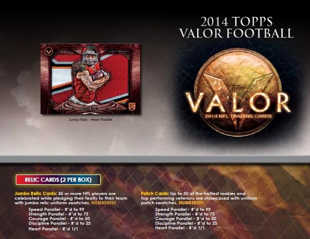 ■セール■NFL 2014 TOPPS VALOR FOOTBALL BOX